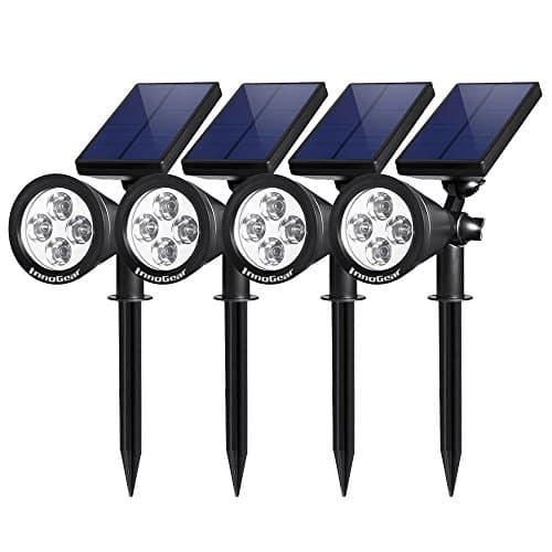 סט תאורה סולארית לגינה ולשביל של InnoGear  בדיל היום באמזון!