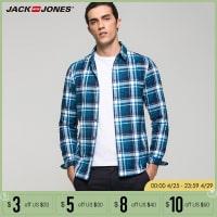 חולצה מכופתרת 100% כותנה של Jack & Jones ב-5$, מידות XS עד M בלבד