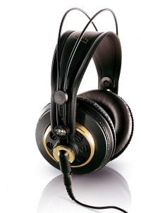 אוזניות AKG K240 STUDIO Semi-Open ב₪199 בלבד! כולל משלוח עד הבית!