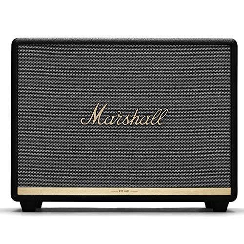 Marshall Woburn Bluetooth Speaker, Black (4090963): Home Audio & Theater (מחיר בזאפ 1,825 ₪ – ₪2999)