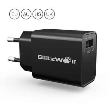 בלעדי! Blitzwolf bw-s9 18w – המטען המהיר המומלץ – רק ב6.99$!
