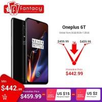"""Oneplus 6T 6GB 128GB גלובלי ב$ 451.99 (1610 ש""""ח) כולל משלוח"""