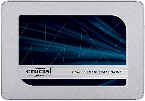"""איזה צלילה במחיר! כונן Crucial MX500 SATA SSD נפח 500GB ב-240 ש""""ח עד הבית!"""