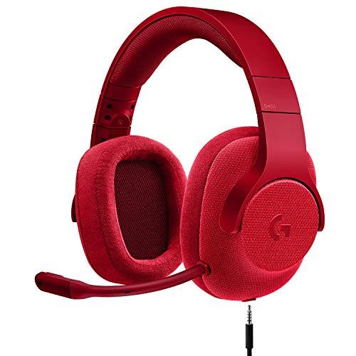 אוזניות גיימינג חוטיות Logitech G433 ב₪298 כולל משלוח!