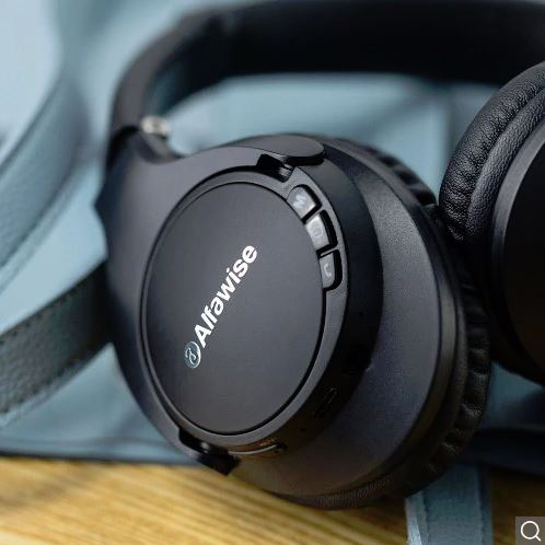 "Alfawise JH – 803 – אוזניות בלוטות' טובות במחיר קטן! רק 66 ש""ח וכוללות גם רדיו FM!"