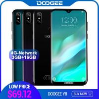 עקיצת קופונים! סמארטפון DOOGEE Y8 ב- $54.12 בלבד!