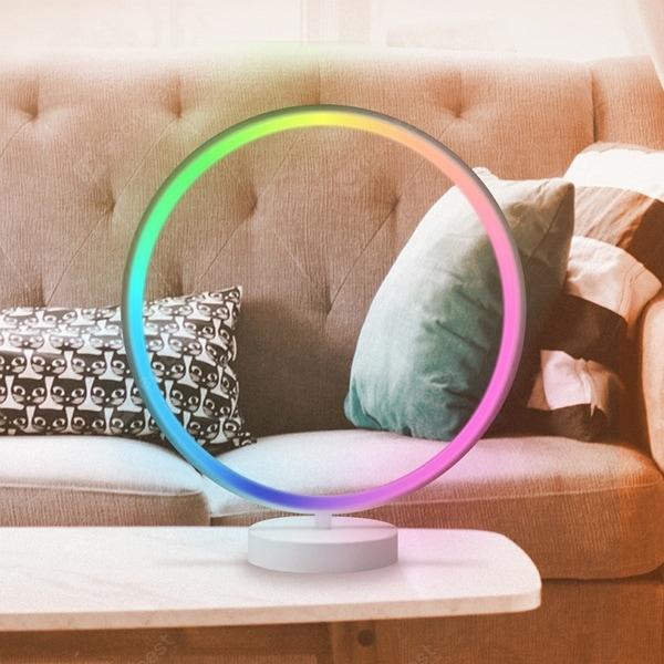 מנורת שולחם לד מחליפה צבעים במחיר מטורף 34.99$ בלבד