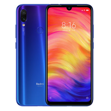 סמארטפון xiaomi redmi note 7 global version 4gb+64gb רק 162.99$
