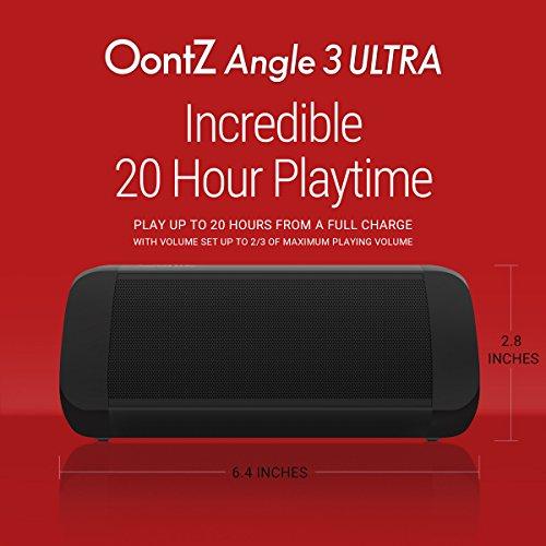 שני רמקולים OontZ Angle 3 Ultra בסטריאו מתחת לרף המכס + משלוח ישיר לארץ + קופון הנחה!