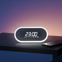 """שעון מעורר – מבית Baseus ושיאומי – עם תאורה, רדיו, רמקול בלוטות', סוללה…רק ב71 ש""""ח!"""