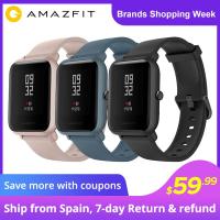 באנדל! שעון חכם AMZAZFIT BIP + אוזניות XIAOMI AIRDOTS ב58$!