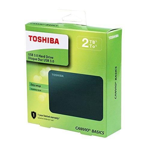 """כונן גיבוי Toshiba Canvio 2TB במחיר מדהים! רק 58.48$ = כ206 ש""""ח! (בזאפ 438שח)"""