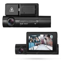 Alfawise LS02 – מצלמת רכב דו כיוונית! עמידה לחום, עם GPS, WIFI ומסך גדול רק ב99.99$ + כרטיס זיכרון 32GB מתנה!