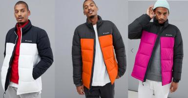 Columbia Pike Lake Jacket מעיל לגבר ב₪212 בלבד! משלוח חינם!