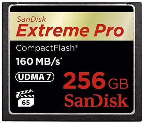"""צלמים לכאן! כרטיס זיכרון מקצועי ומהיר במיוחד – SanDisk Extreme PRO 256GB CompactFlash – רק ב841 ש""""ח! (בארץ מתחיל ב1749 ש""""ח!)"""