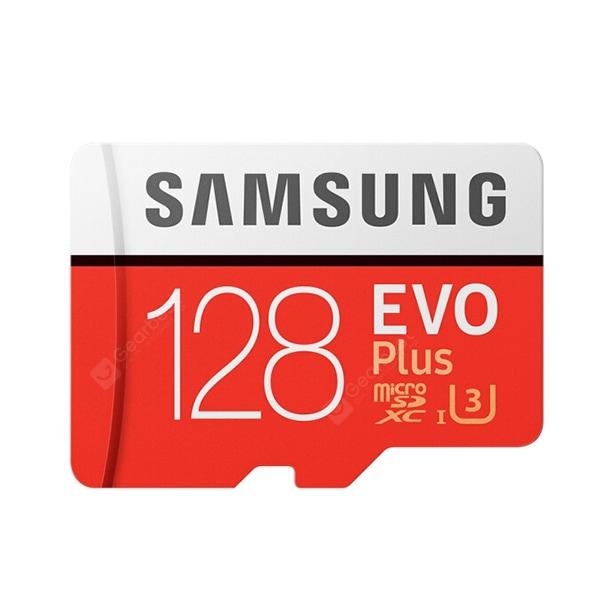 כרטיס זיכרון מהיר – 128GB U3 – Samsung EVO PLUS – ב17.99$