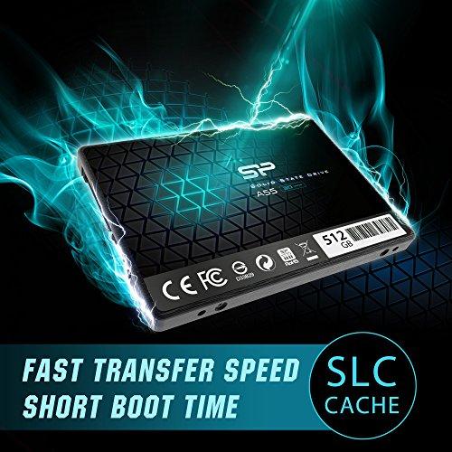 """כונן SSD מהיר – Silicon Power 512GB SSD 3D NAND עם קאש SLC – רק ב207 ש""""ח עד הבית!"""