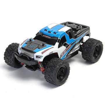 """מכונית (באגי) על שלט – עד 35 קמ""""ש! HS 18301/18302 1/18 2.4G 4WD רק ב39.59$!"""