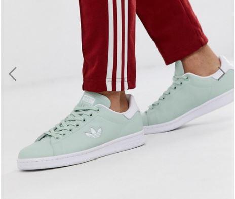 Adidas Stan Smith סטן סמית' צבע מנטה גברים ב₪161 בלבד! משלוח חינם!