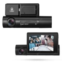 Alfawise LS02 – מצלמת רכב דו כיוונית! עמידה לחום, עם GPS, WIFI ומסך גדול רק ב79.99$!