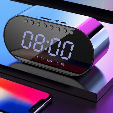 רמקול בלוטות' משולב רדיו ושעון מעורר ב$9.99