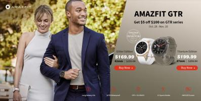השקה! AMAZFIT GTR – השעון החכם מבית שיאומי – בגרסאות טיטאניום ואבני סוברבסקי! עם 5$ הנחה!