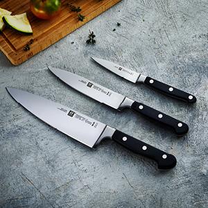 לחטוף! סט סכיני שף מקצועי של Zwilling גרמניה במחיר הכי זול שהיה!