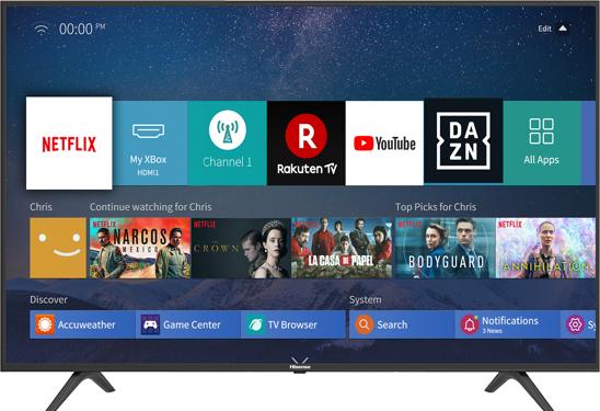 טלויזיה 65 אינץ Hisense H65B7100IL 4K רק ב2690שח!