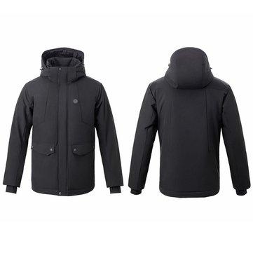 סובלים מקור בחורף? מעיל עם חימום חשמלי (נטען בUSB!) של שיאומי Urevo רק ב87.99$!