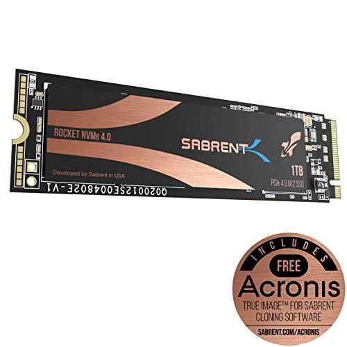 הנחה מטורפת! כונני SSD מהירים במיוחד – Sabrent Rocket NVMe 4.0 Gen4 PCIe M.2 ב500GB/1TB/2TB!