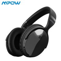"""Mpow H5 – דור 2! מהאוזניות הכי נמכרות באמזון – עם סינון רעשים אקטיבי – במחיר מצויין!  רק 145 ש""""ח!"""
