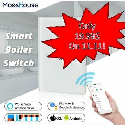Tuya WiFi Smart Boiler Switch 16A Water Heater Smart Remote Control EU Israel | eBay