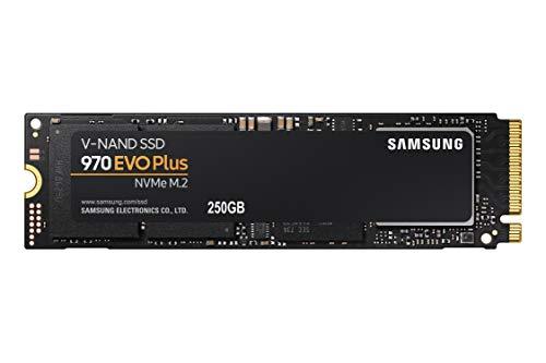 """כונן Samsung 970 EVO Plus SSD 250GB – M.2 NVMe מהיר ואמין במיוחד! רק ב247 ש""""ח עם משלוח חינם! (בזאפ 495 – 389 ₪!)"""