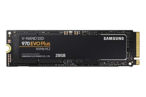 """כונן Samsung 970 EVO Plus SSD 250GB – M.2 NVMe מהיר ואמין במיוחד! פחות מ-200 ש""""ח עם משלוח חינם!"""