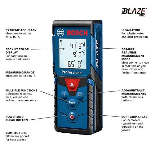 "Bosch Blaze Pro – מד טווח לייזר מקצועי רק ב-205 ש""ח!"
