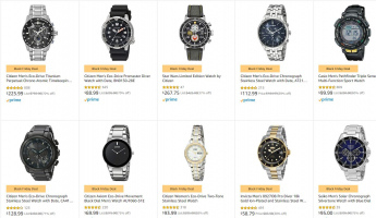 שעונים רבותיי! שעונים! כל המותגים השווים, מCASIO לCitizen, מPUMA לBulova  וכל מה שבאמצע – לגברים ולנשים עם משלוח חינם!