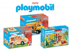 PLAYMOBIL לקט ענק בחצי המחיר ומשלוח חינם!