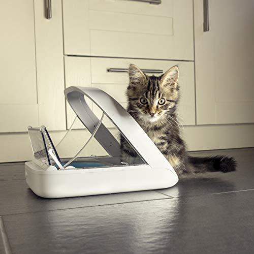 """גאוני! SureFeed Microchip Pet Feeder רק ב275 ש""""ח עד הבית! הכי זול אי פעם!"""