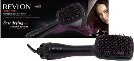 הדור הבא בעיצוב השיער Revlon Perfectionist 2-in-1 מחליק/ מייבש שיער במברשת רק ₪141 עד הבית!