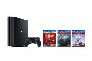 הזדמנות אחרונה – קונסולת משחק PlayStation 4 Pro 1TB עם 3 משחקים