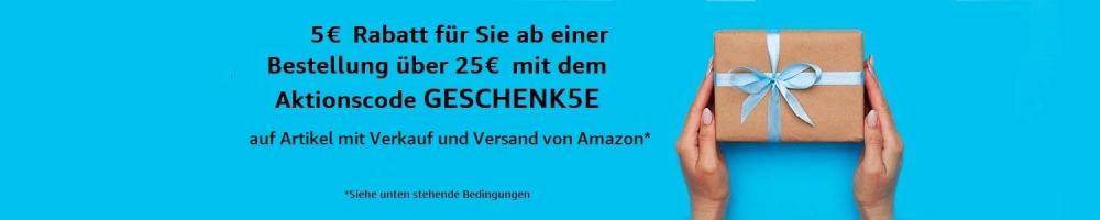 קופון 5 יורו הנחה באמזון גרמניה! ואיך לקבל עוד 13 יורו מתנה?