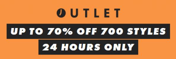 ל24 שעות בלבד | עד 70% הנחה במחלקת האאוטלט הלוהטת בASOS!