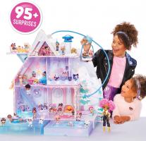בית בובות לול ענק L.O.L Surprise! Winter Disco Chalet עם 95 הפתעות ובובות בכ₪1,137 עד הבית!