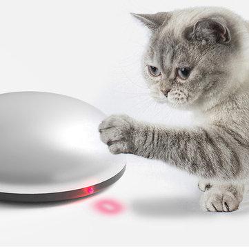 צעצוע מדליק לחתול (שגם מנקה את הרצפה) – רק ב18.99$!