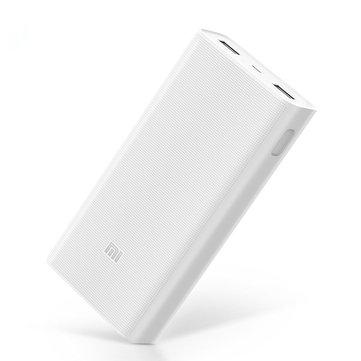 """המטען הנייד/סוללה ניידת המומלצת של שיאומי עם טעינה מהירה – Xiaomi 2C 20000mAh Q C 3.0 רק ב$24.21 / 84 ש""""ח כולל משלוח!"""