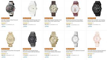 שעונים! 40% על שעונים באמזון – לקוסט, ארמני, מייקל קורס, קאסיו, גס, פוסיל, דיזל ועוד ועוד ועוד! מבחר מותגים – עם משלוח חינם!