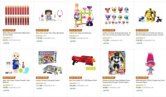 עד 40% הנחה על צעצועי Nerf, Play-Doh, Hasbro!