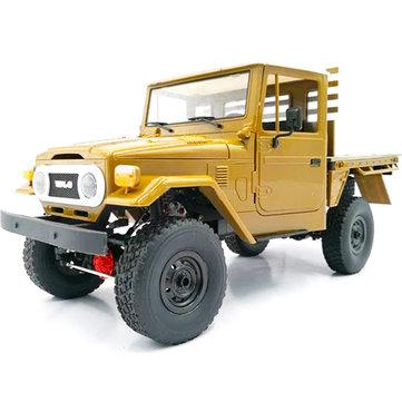 מכונית מדליקה על שלט – WPL C44KM 1/16 Metal Edition ללא מכס! רק $73.09