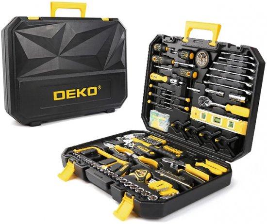 סט כלי עבודה ידניים 168 חלקים Deko ב199 ₪ בלבד!
