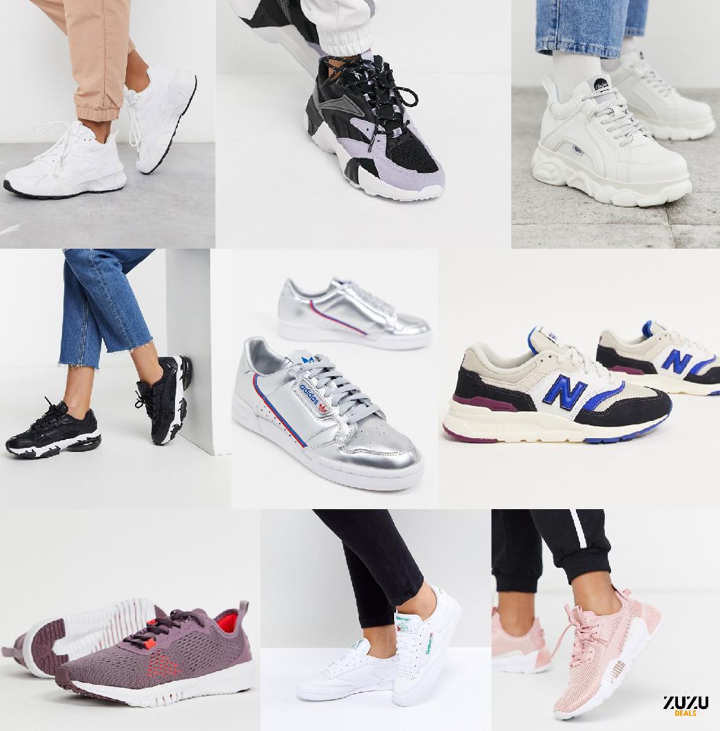 לקט סניקרס ונעלי ספורט לנשים – ללא מכס! המותגים הכי השווים במחירים לוהטים ומשלוח חינם!
